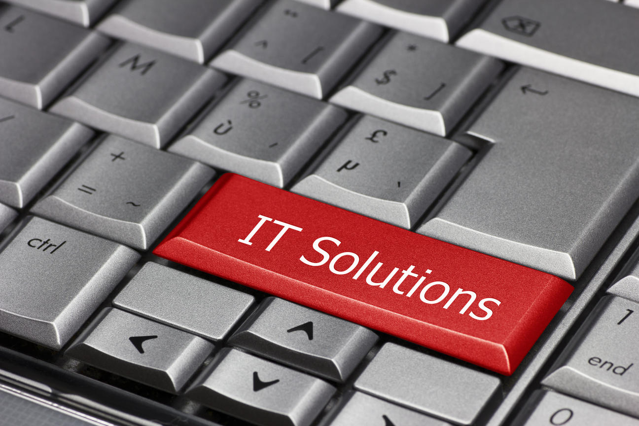 IT Solutions Keyboard image